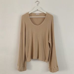 Lacausa slouchy sweater